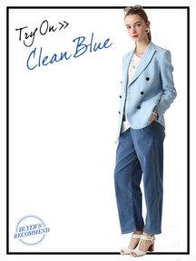 CLEAN BLUE
