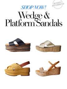 Wedge & Platform Sandals