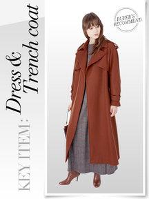 Dress&Trench coat