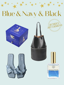Blue & Navy & Black