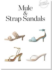 Mule & Strap Sandals