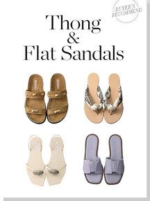 Thong & Flat Sandals