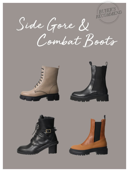 Side Gore & Combat Boots