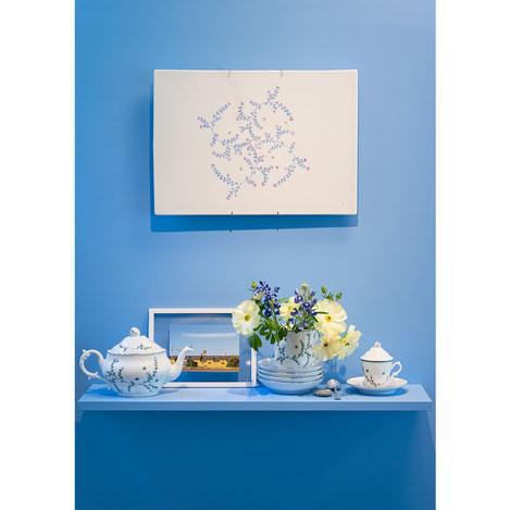 テーブルに広がる優しい花の世界。「リチャード ジノリ」×皆川 明氏による磁器コレクションにフォーカス