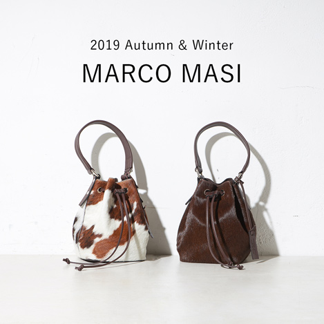 ≪WEB LIMITED≫19AW新作MARCO MASI 先行予約