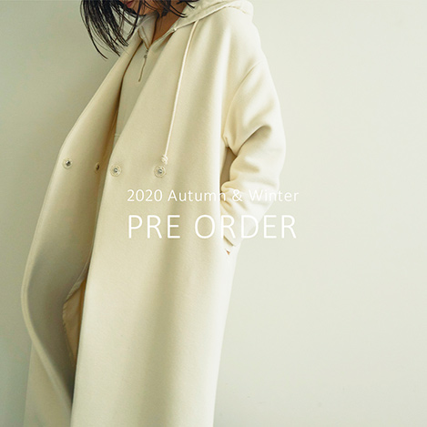 2020 Autumn & Winter PRE ORDER
