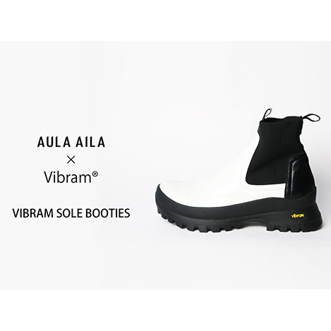 """VIBRAM SOLE BOOTIES""が登場!"