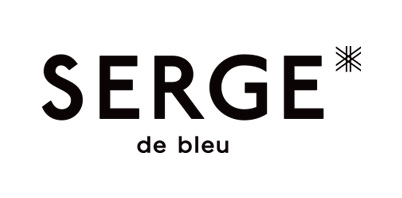 SERGE de bleu/サージ