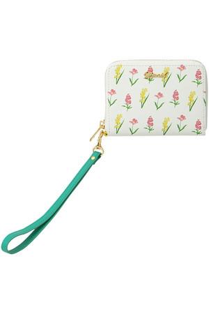 花柄財布ハーフ
