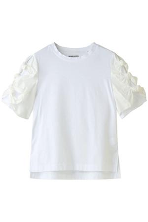 リボンスリーブTシャツ ミュベール/MUVEIL