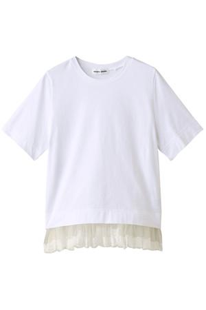 チュールプリーツTシャツ ミュベール/MUVEIL
