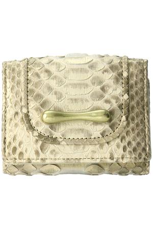 ダイヤモンドパイソン 3つ折り財布 トフ アンド ロードストーン/TOFF&LOADSTONE