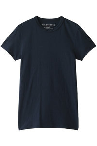 <ELLE SHOP> Shinzone シンゾーン クルーネックTシャツ ネイビー画像
