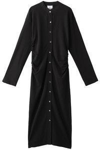 <ELLE SHOP> Shinzone シンゾーン コットンインレイカーディガンドレス ブラック画像