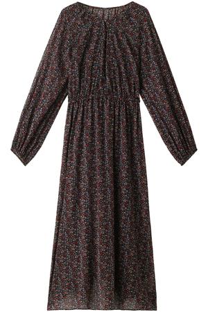 フラワープリントスモックドレス シンゾーン/Shinzone
