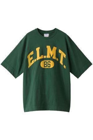 E.L.M.TプリントTシャツ