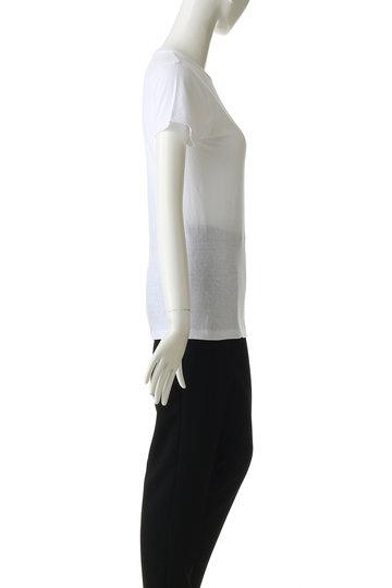 シンゾーン/ShinzoneのクルーネックTシャツ(ホワイト/14SMSCU22)