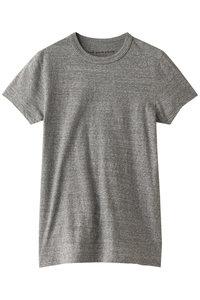 <ELLE SHOP>クルーネックTシャツ グレー画像