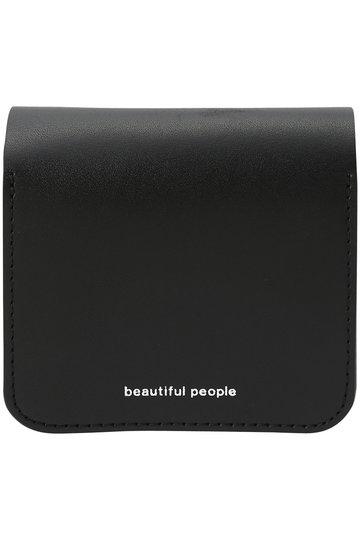 ビューティフルピープル/beautiful peopleのボールチェーンコンパクトウォレット(ブラック/1925511950)