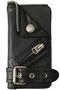 【予約販売】シュリンクレザーiPhoneケース(iPhone6・6s・7・8対応) ビューティフルピープル/beautiful people ブラック