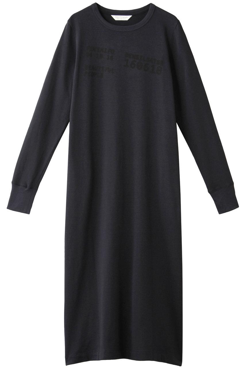 ビューティフルピープル/beautiful peopleのスビンピマジャージー ナンバーロゴTドレス(ネイビー/1945304004)