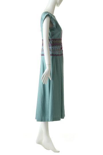 ヴェルニカ./Velnica.の刺繍ドレス(ターコイズ/19015)