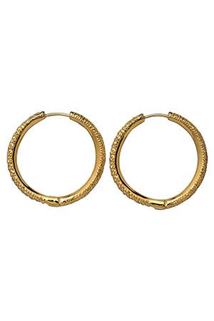 【受注生産】パヴェスモールフープピアス アヤミ ジュエリー/AYAMI jewelry