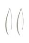 【受注生産】パヴェストレートピアス アヤミ ジュエリー/AYAMI jewelry シルバー