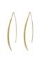 【受注生産】パヴェストレートピアス アヤミ ジュエリー/AYAMI jewelry ゴールド