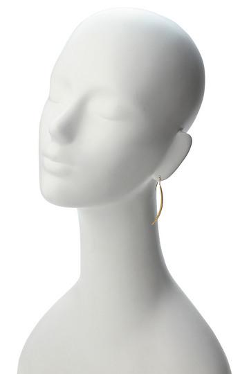 アヤミ ジュエリー/AYAMI jewelryの【受注生産】パヴェストレートピアス(ゴールド/APS-G172601)