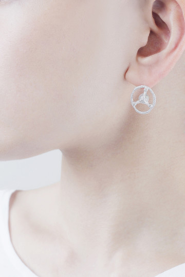 【受注生産】水晶ピアス アヤミ ジュエリー/AYAMI jewelry