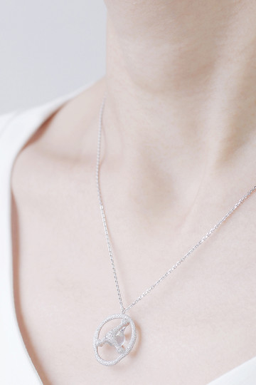 アヤミ ジュエリー/AYAMI jewelryの【受注生産】水晶ネックレス(シルバー/AP-R184301)