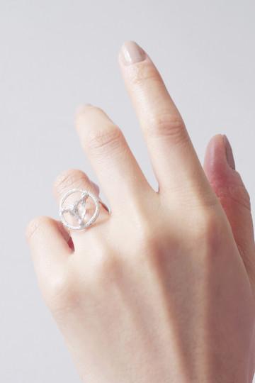 アヤミ ジュエリー/AYAMI jewelryの【受注生産】水晶リング(シルバー/AR-R187303)