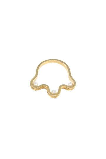 アヤミ ジュエリー/AYAMI jewelryの【受注生産】淡水パールリング(ゴールド/AR-G187604)