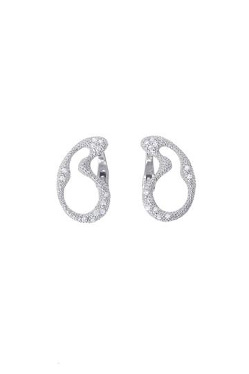 アヤミ ジュエリー/AYAMI jewelryの【受注生産】オーロライヤリング(小)(シルバー/AE-G181601)