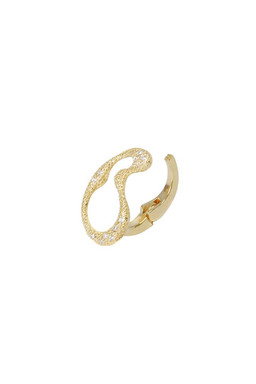 アヤミ ジュエリー/AYAMI jewelryの【受注生産】オーロライヤリング(小)(ゴールド/AE-G181601)
