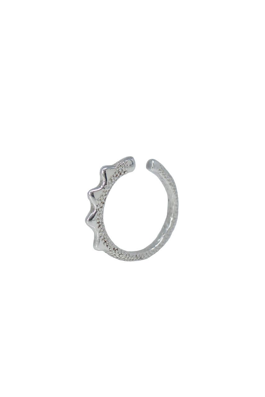 アヤミ ジュエリー/AYAMI jewelryのスタッズイヤーカフ(ピンキーリング2way) (片耳用)(シルバー/AE-J191939)