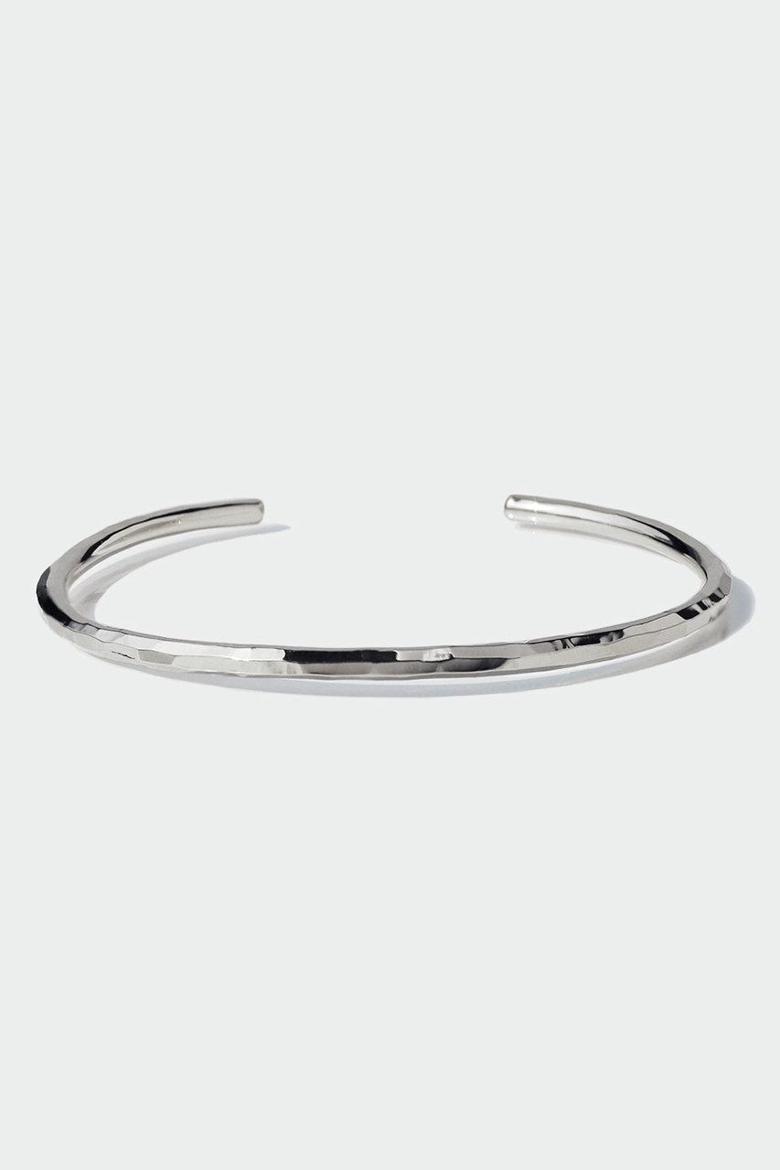 アヤミ ジュエリー/AYAMI jewelryのHand Cutting バングル(シルバー/AB-J206902)