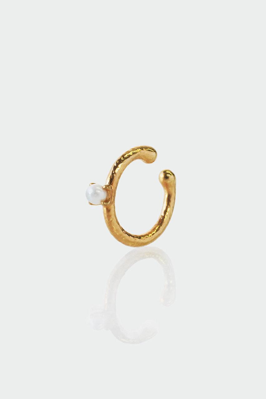アヤミ ジュエリー/AYAMI jewelryの【ELLE SHOP限定】パールゴールドミニイヤーカフ(片耳用)(ゴールド/AE-F201939)