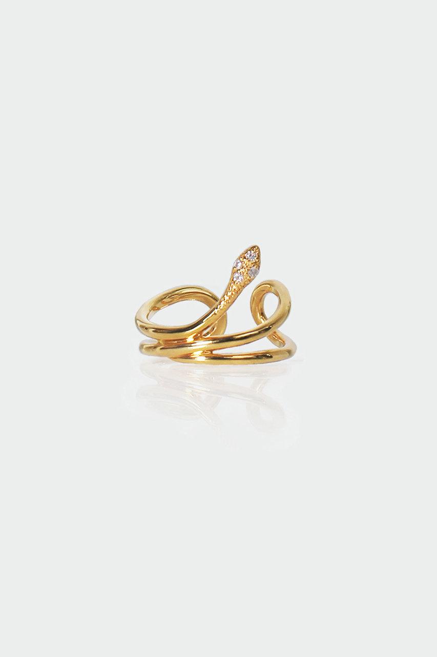 アヤミ ジュエリー/AYAMI jewelryの【予約販売】Renee イヤーカフ(片耳用)(ゴールド/AE-F201943)