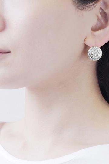 アヤミ ジュエリー/AYAMI jewelryの2wayサークルピアス(シルバー/APS-B182802)