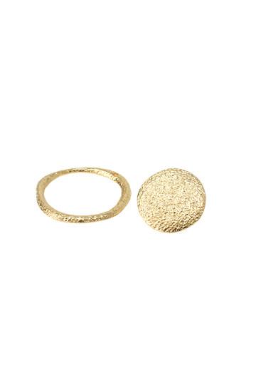 アヤミ ジュエリー/AYAMI jewelryの2wayサークルピアス(ゴールド/APS-B182802)