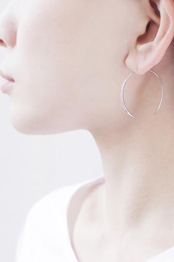 アヤミ ジュエリー/AYAMI jewelryのフープピアス(シルバー/APS-R182308)