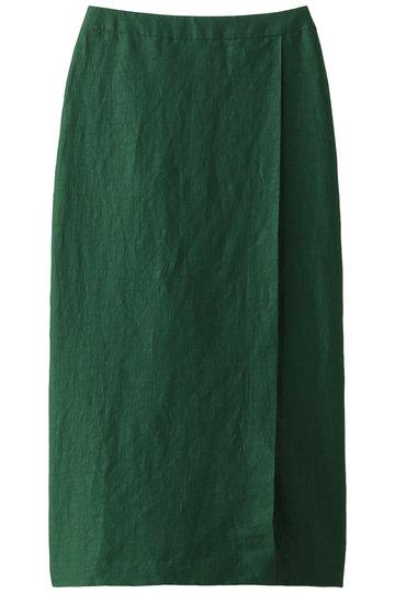 サクラ/SACRAのリネンスカート(グリーン/119119121)