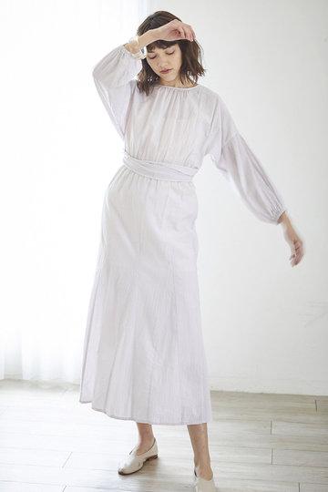 マリリンムーン/MARILYN MOONの【wa...lance★★】2wayコットンワンピース(ライラック/30-5363)