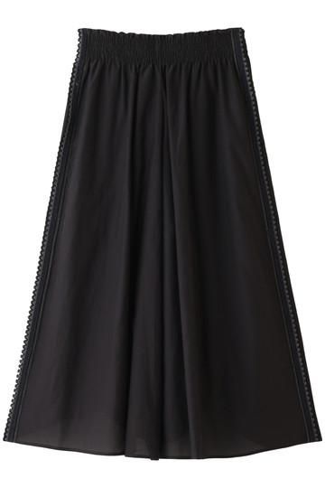 ANTIPAST アンティパスト スカート刺繍テープキュロットスカート ブラック