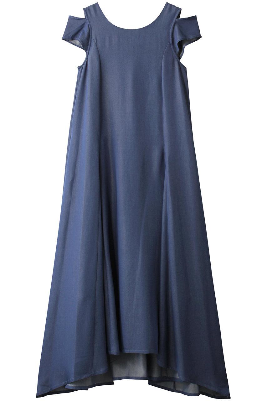 アウラ/AULAの【AULA AILA】バックツイストドレス(インディゴ/1203-03001)