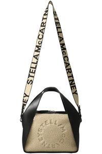 <ELLE SHOP> STELLA McCARTNEY ステラ マッカートニー エコムートン2wayトートバッグ ブラック画像