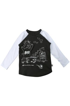 【Kids】BOO ラグランTシャツ ステラ マッカートニー/STELLA McCARTNEY
