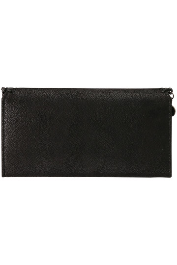 ステラ マッカートニー/STELLA McCARTNEYのFalabella ブラックチェーン長財布(ブラック/430999W8180)